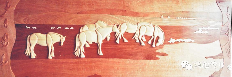 【蒙古人】乌拉特民间手工艺师达那巴拉木雕作品 第23张