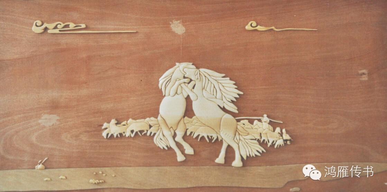 【蒙古人】乌拉特民间手工艺师达那巴拉木雕作品 第27张