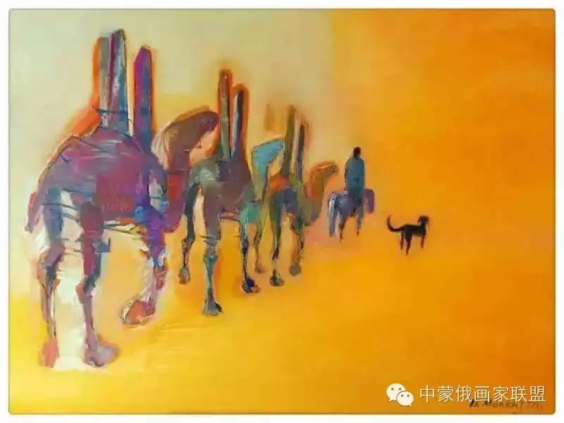 蒙古国油画大师-恩赫金、蒙赫金 第6张 蒙古国油画大师-恩赫金、蒙赫金 蒙古画廊