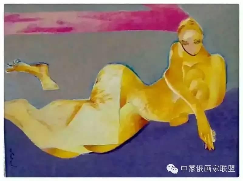蒙古国油画大师-恩赫金、蒙赫金 第5张 蒙古国油画大师-恩赫金、蒙赫金 蒙古画廊