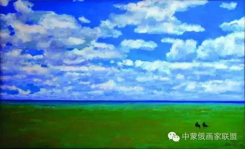蒙古国油画大师-恩赫金、蒙赫金 第4张 蒙古国油画大师-恩赫金、蒙赫金 蒙古画廊