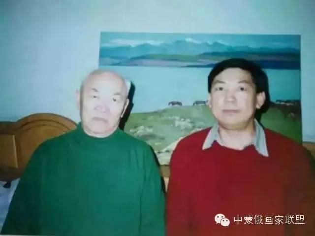 蒙古国油画大师-恩赫金、蒙赫金 第2张 蒙古国油画大师-恩赫金、蒙赫金 蒙古画廊