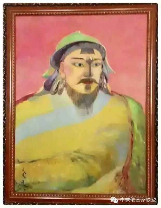蒙古国油画大师-恩赫金、蒙赫金 第8张 蒙古国油画大师-恩赫金、蒙赫金 蒙古画廊