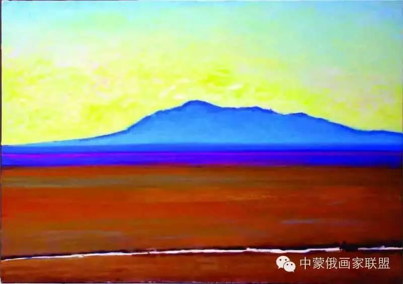 蒙古国油画大师-恩赫金、蒙赫金 第16张 蒙古国油画大师-恩赫金、蒙赫金 蒙古画廊