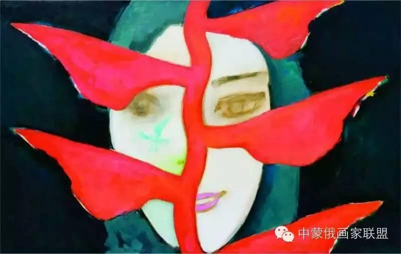 蒙古国油画大师-恩赫金、蒙赫金 第14张 蒙古国油画大师-恩赫金、蒙赫金 蒙古画廊