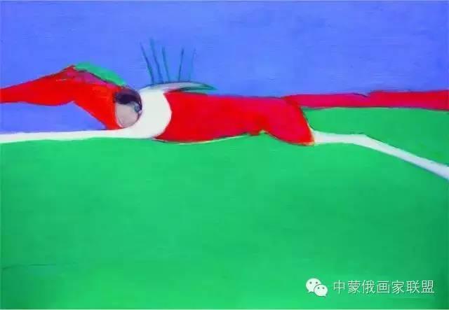 蒙古国油画大师-恩赫金、蒙赫金 第18张 蒙古国油画大师-恩赫金、蒙赫金 蒙古画廊