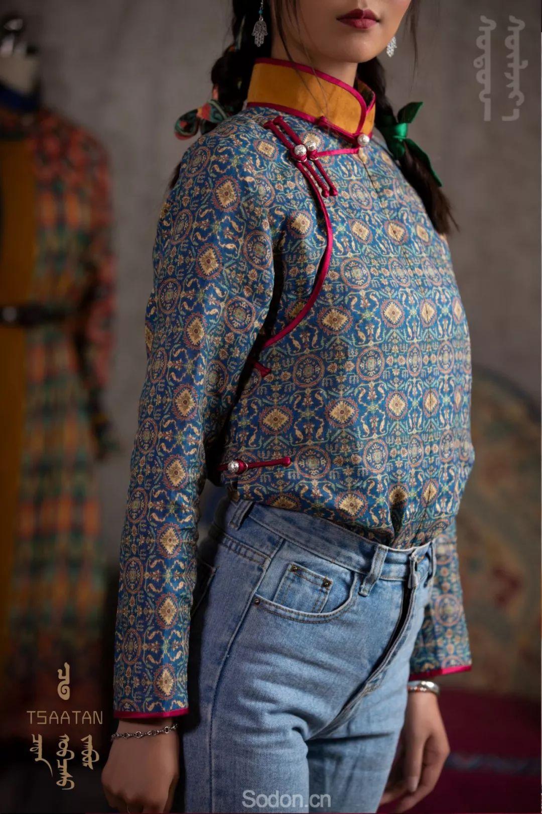 TSAATAN蒙古时装 2019新款,来自驯鹿人的独特魅力! 第5张