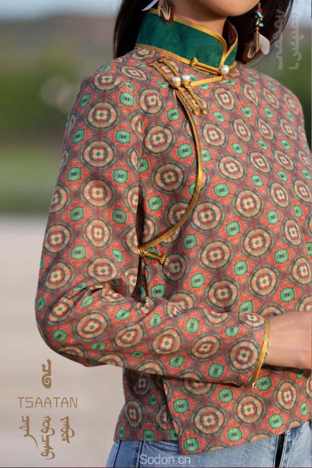 TSAATAN蒙古时装 2019新款,来自驯鹿人的独特魅力! 第10张