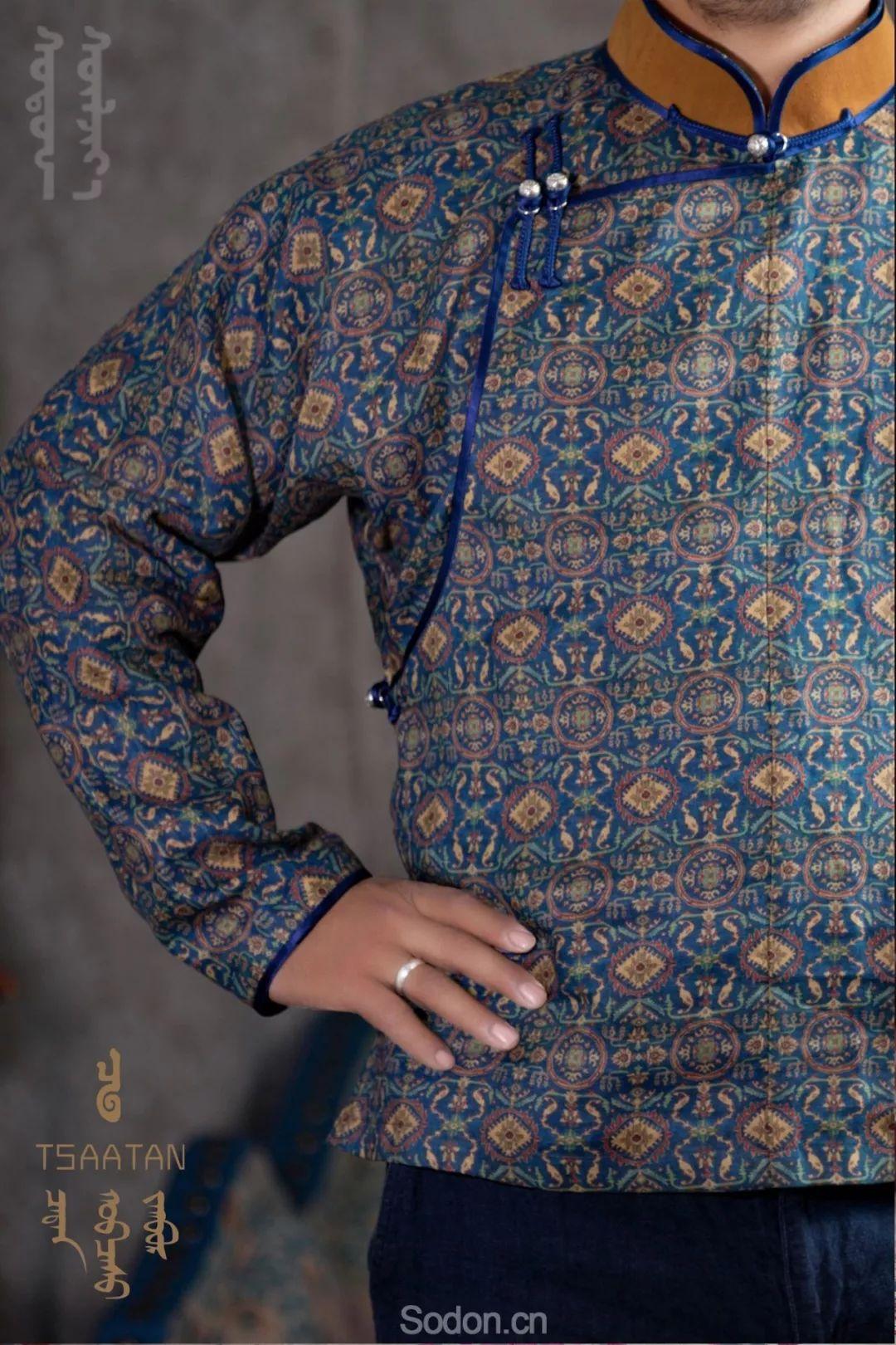 TSAATAN蒙古时装 2019新款,来自驯鹿人的独特魅力! 第13张 TSAATAN蒙古时装 2019新款,来自驯鹿人的独特魅力! 蒙古服饰