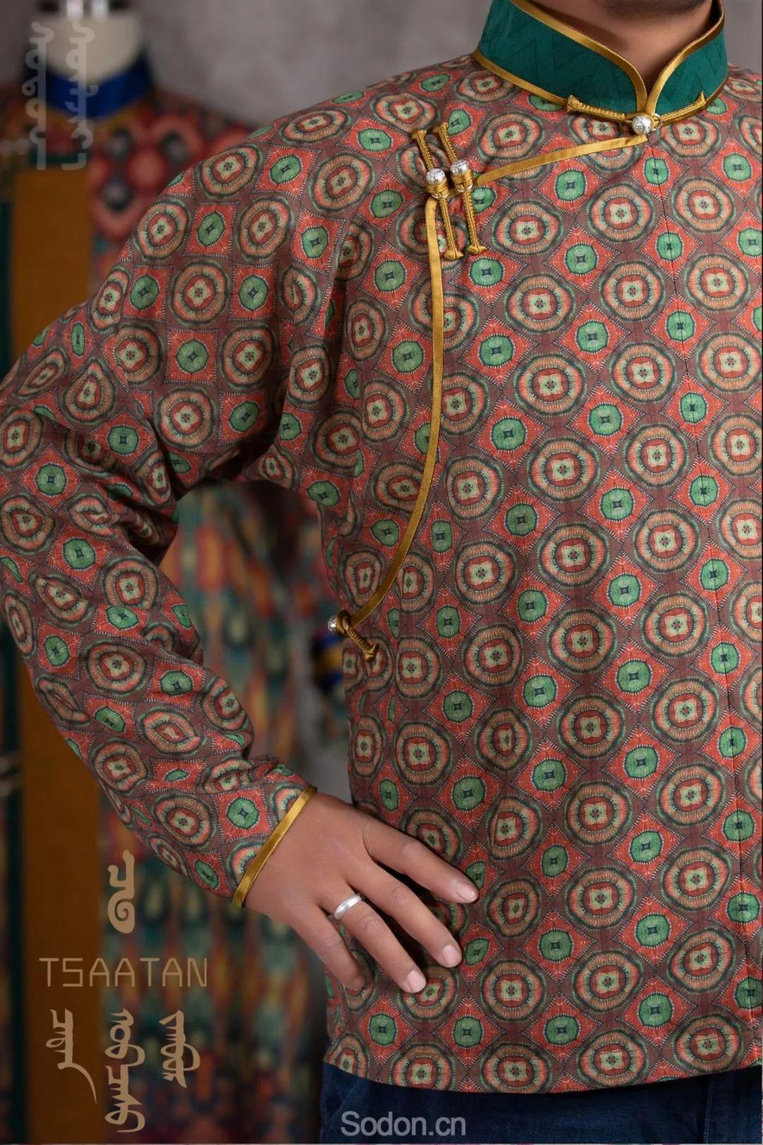 TSAATAN蒙古时装 2019新款,来自驯鹿人的独特魅力! 第15张 TSAATAN蒙古时装 2019新款,来自驯鹿人的独特魅力! 蒙古服饰