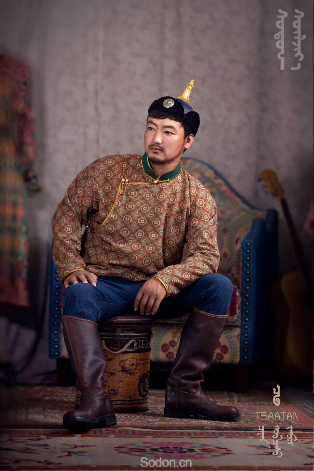 TSAATAN蒙古时装 2019新款,来自驯鹿人的独特魅力! 第14张