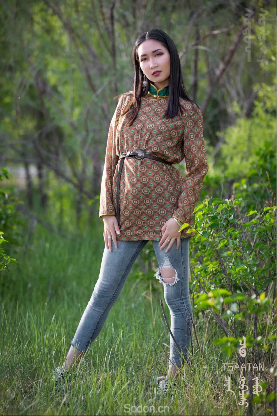 TSAATAN蒙古时装 2019新款,来自驯鹿人的独特魅力! 第17张