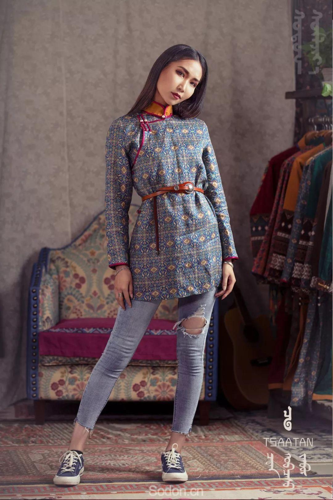 TSAATAN蒙古时装 2019新款,来自驯鹿人的独特魅力! 第21张