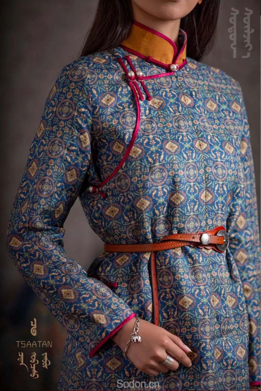 TSAATAN蒙古时装 2019新款,来自驯鹿人的独特魅力! 第22张
