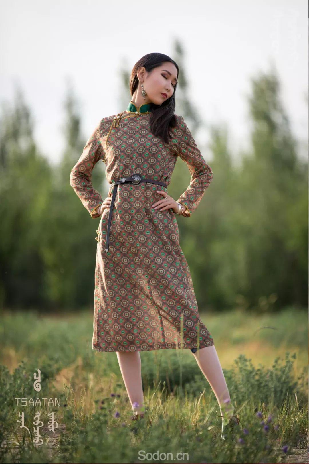 TSAATAN蒙古时装 2019新款,来自驯鹿人的独特魅力! 第24张