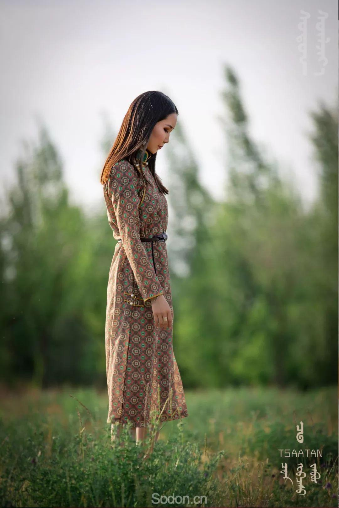 TSAATAN蒙古时装 2019新款,来自驯鹿人的独特魅力! 第25张