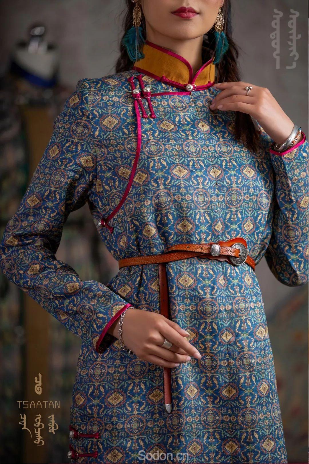 TSAATAN蒙古时装 2019新款,来自驯鹿人的独特魅力! 第28张