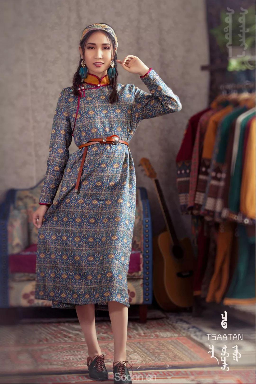 TSAATAN蒙古时装 2019新款,来自驯鹿人的独特魅力! 第27张