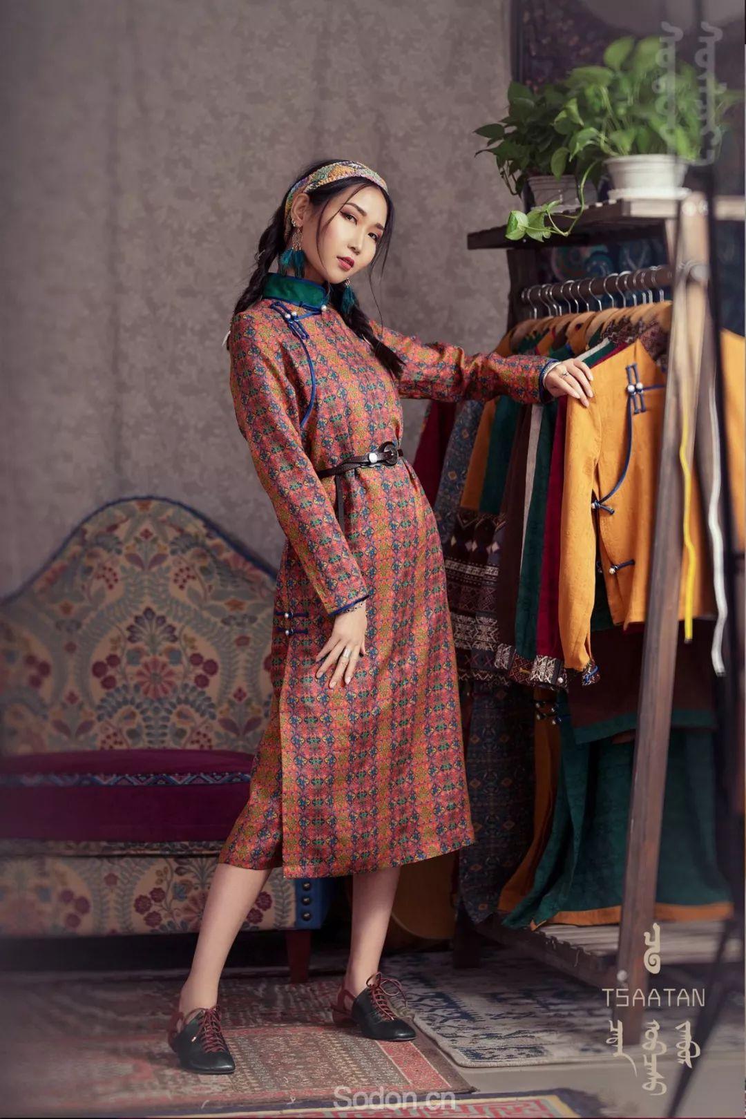 TSAATAN蒙古时装 2019新款,来自驯鹿人的独特魅力! 第29张