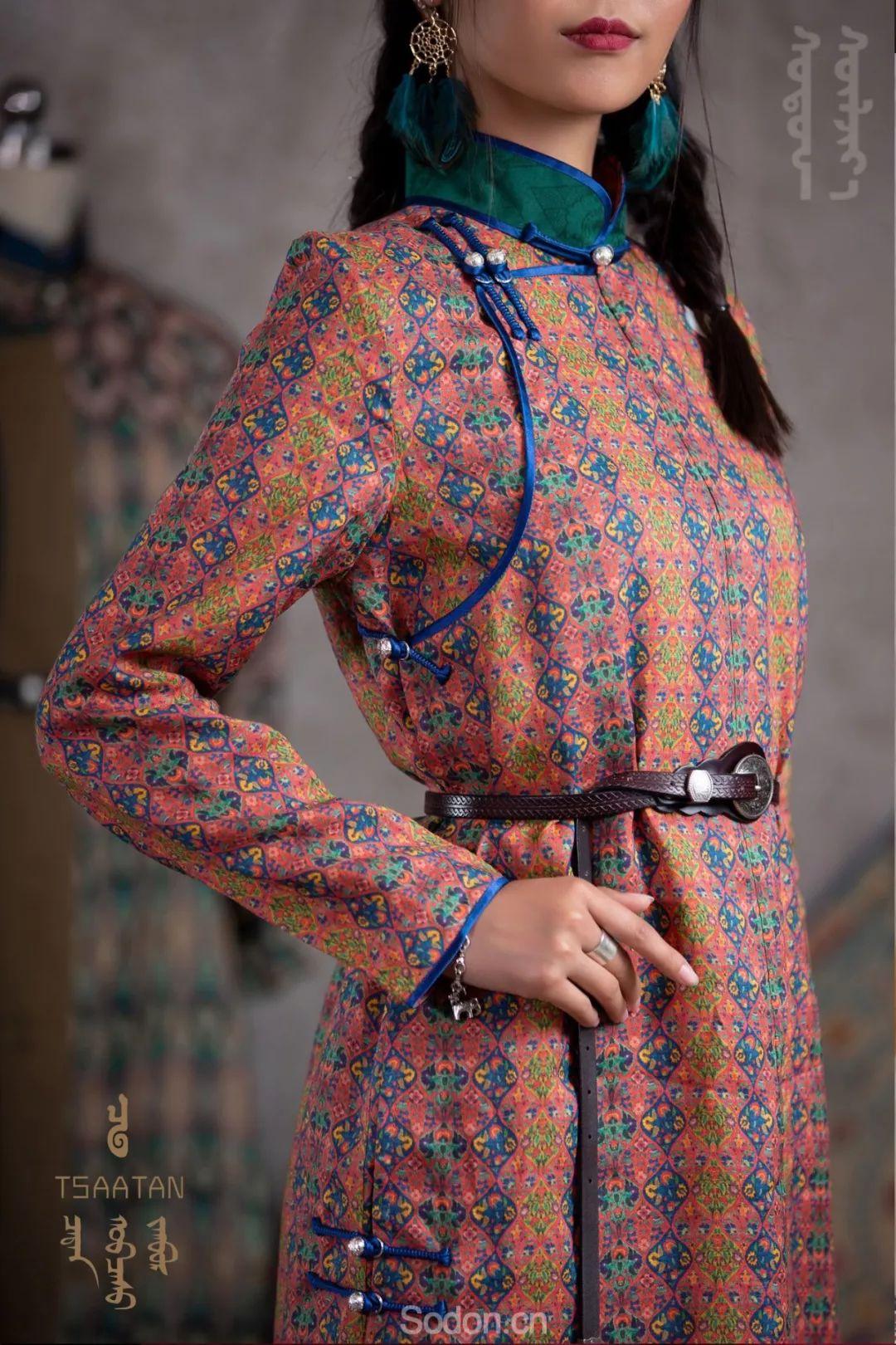 TSAATAN蒙古时装 2019新款,来自驯鹿人的独特魅力! 第30张 TSAATAN蒙古时装 2019新款,来自驯鹿人的独特魅力! 蒙古服饰