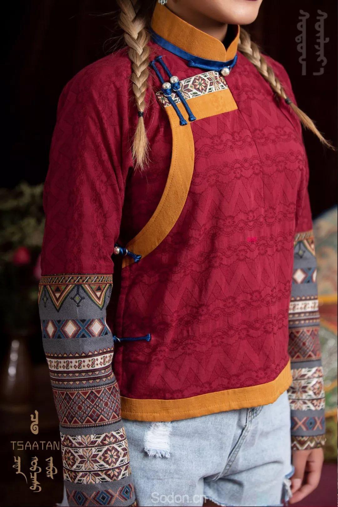 TSAATAN蒙古时装 2019新款,来自驯鹿人的独特魅力! 第37张
