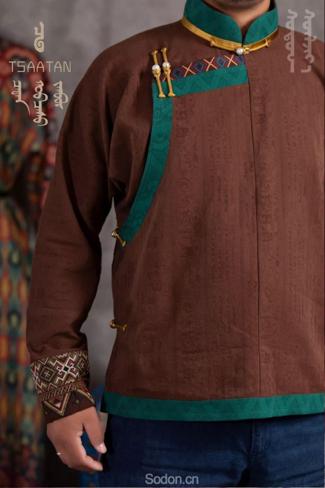 TSAATAN蒙古时装 2019新款,来自驯鹿人的独特魅力! 第45张 TSAATAN蒙古时装 2019新款,来自驯鹿人的独特魅力! 蒙古服饰