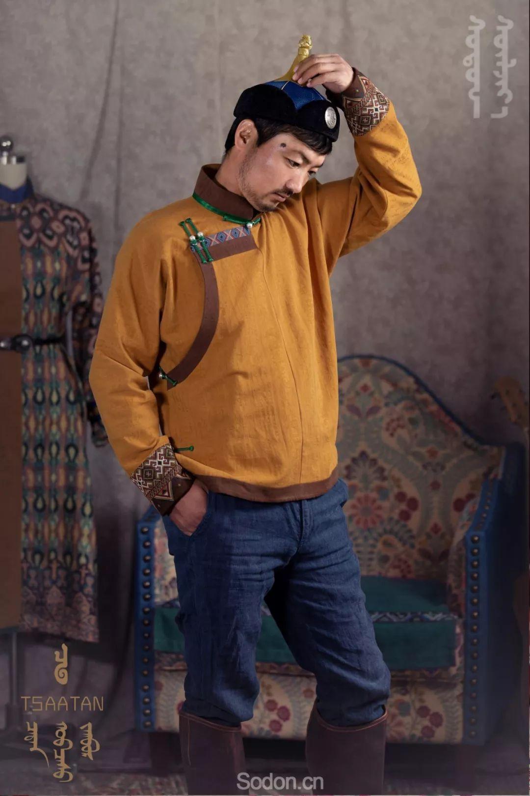TSAATAN蒙古时装 2019新款,来自驯鹿人的独特魅力! 第46张