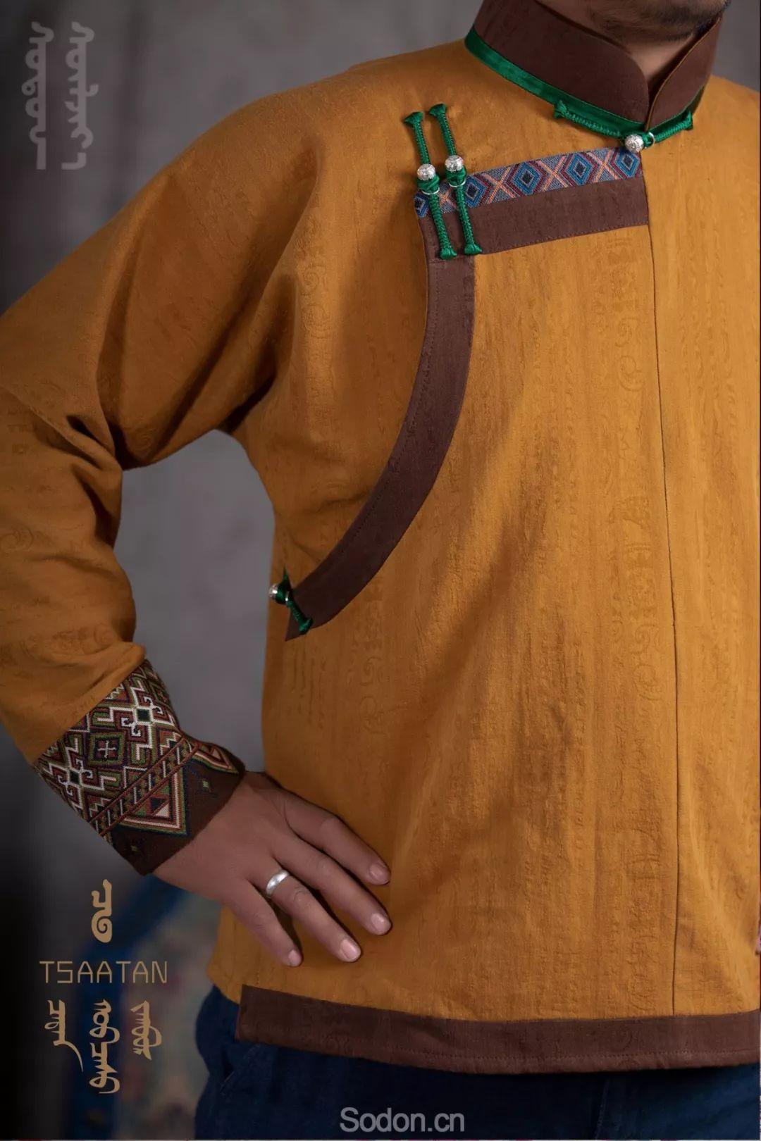TSAATAN蒙古时装 2019新款,来自驯鹿人的独特魅力! 第47张