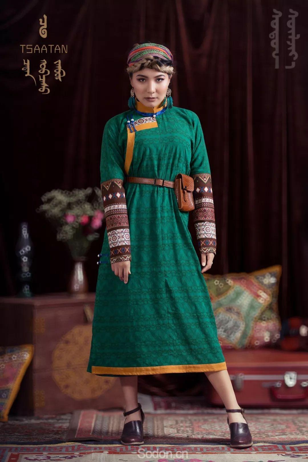 TSAATAN蒙古时装 2019新款,来自驯鹿人的独特魅力! 第49张