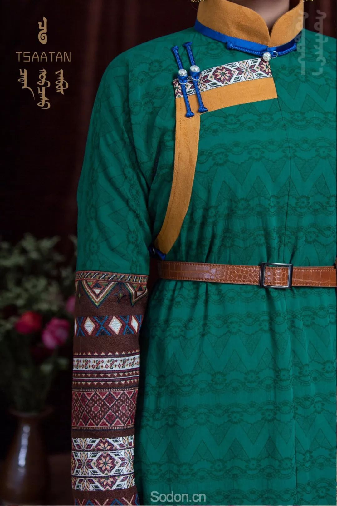 TSAATAN蒙古时装 2019新款,来自驯鹿人的独特魅力! 第50张