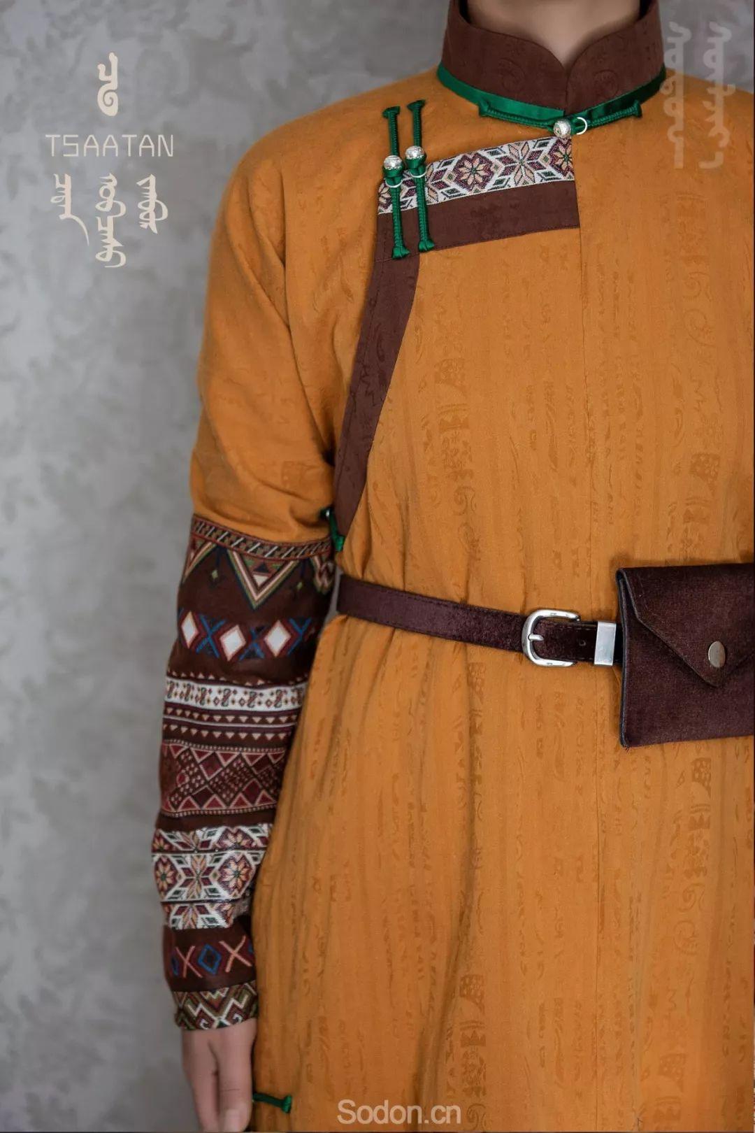 TSAATAN蒙古时装 2019新款,来自驯鹿人的独特魅力! 第54张