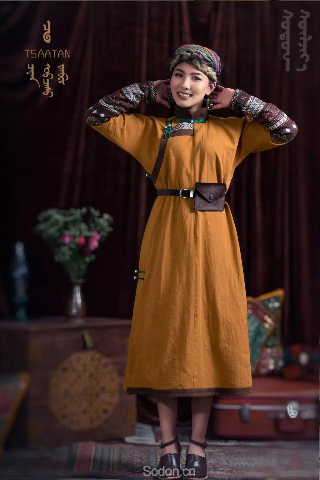 TSAATAN蒙古时装 2019新款,来自驯鹿人的独特魅力! 第53张