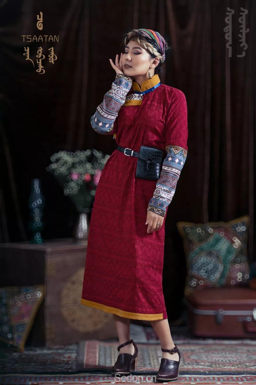 TSAATAN蒙古时装 2019新款,来自驯鹿人的独特魅力! 第55张