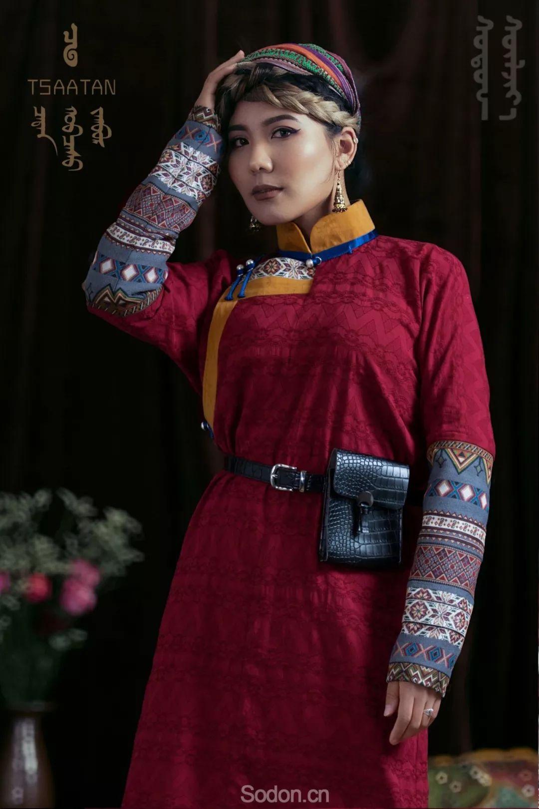 TSAATAN蒙古时装 2019新款,来自驯鹿人的独特魅力! 第56张 TSAATAN蒙古时装 2019新款,来自驯鹿人的独特魅力! 蒙古服饰