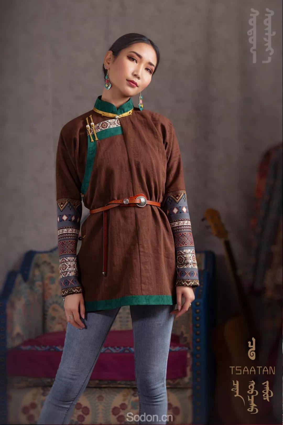 TSAATAN蒙古时装 2019新款,来自驯鹿人的独特魅力! 第59张 TSAATAN蒙古时装 2019新款,来自驯鹿人的独特魅力! 蒙古服饰