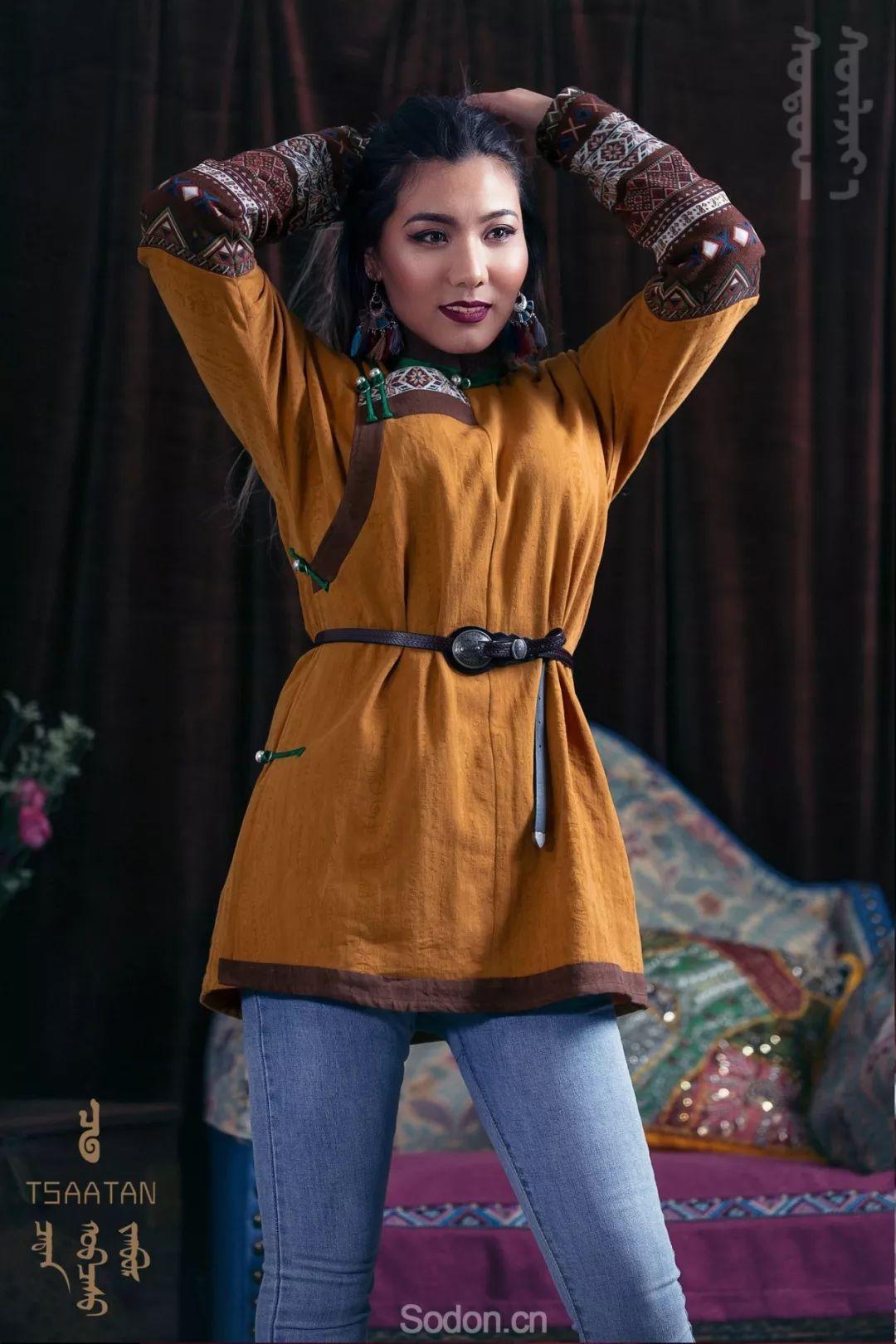 TSAATAN蒙古时装 2019新款,来自驯鹿人的独特魅力! 第61张
