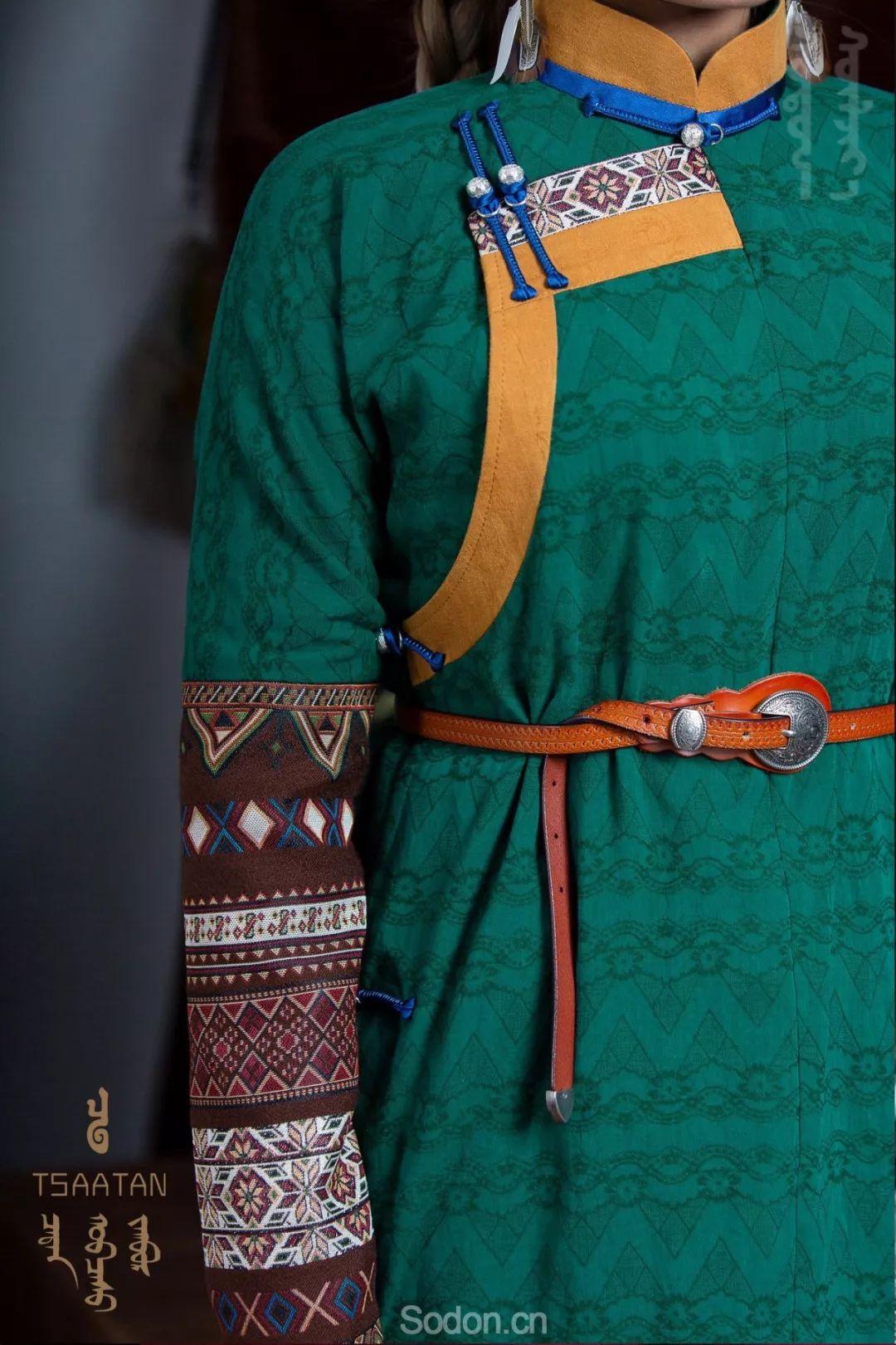 TSAATAN蒙古时装 2019新款,来自驯鹿人的独特魅力! 第64张