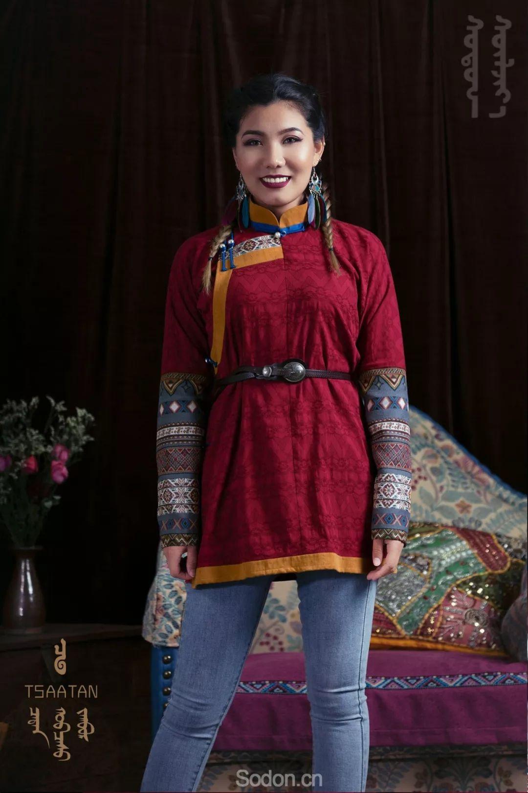 TSAATAN蒙古时装 2019新款,来自驯鹿人的独特魅力! 第65张