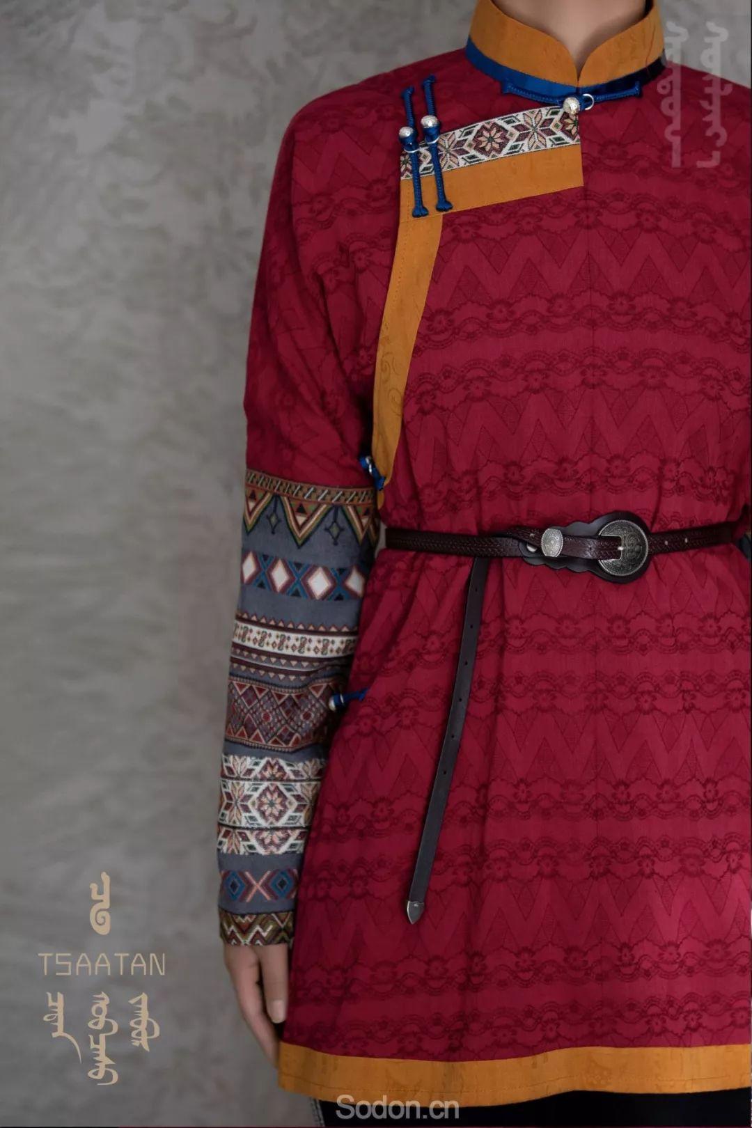 TSAATAN蒙古时装 2019新款,来自驯鹿人的独特魅力! 第66张