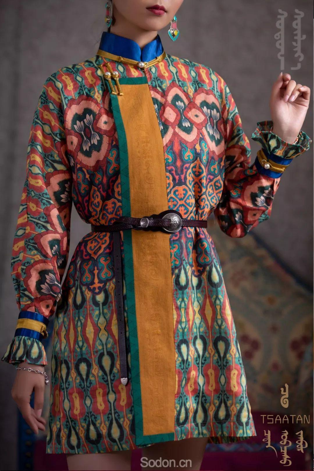 TSAATAN蒙古时装 2019新款,来自驯鹿人的独特魅力! 第75张 TSAATAN蒙古时装 2019新款,来自驯鹿人的独特魅力! 蒙古服饰