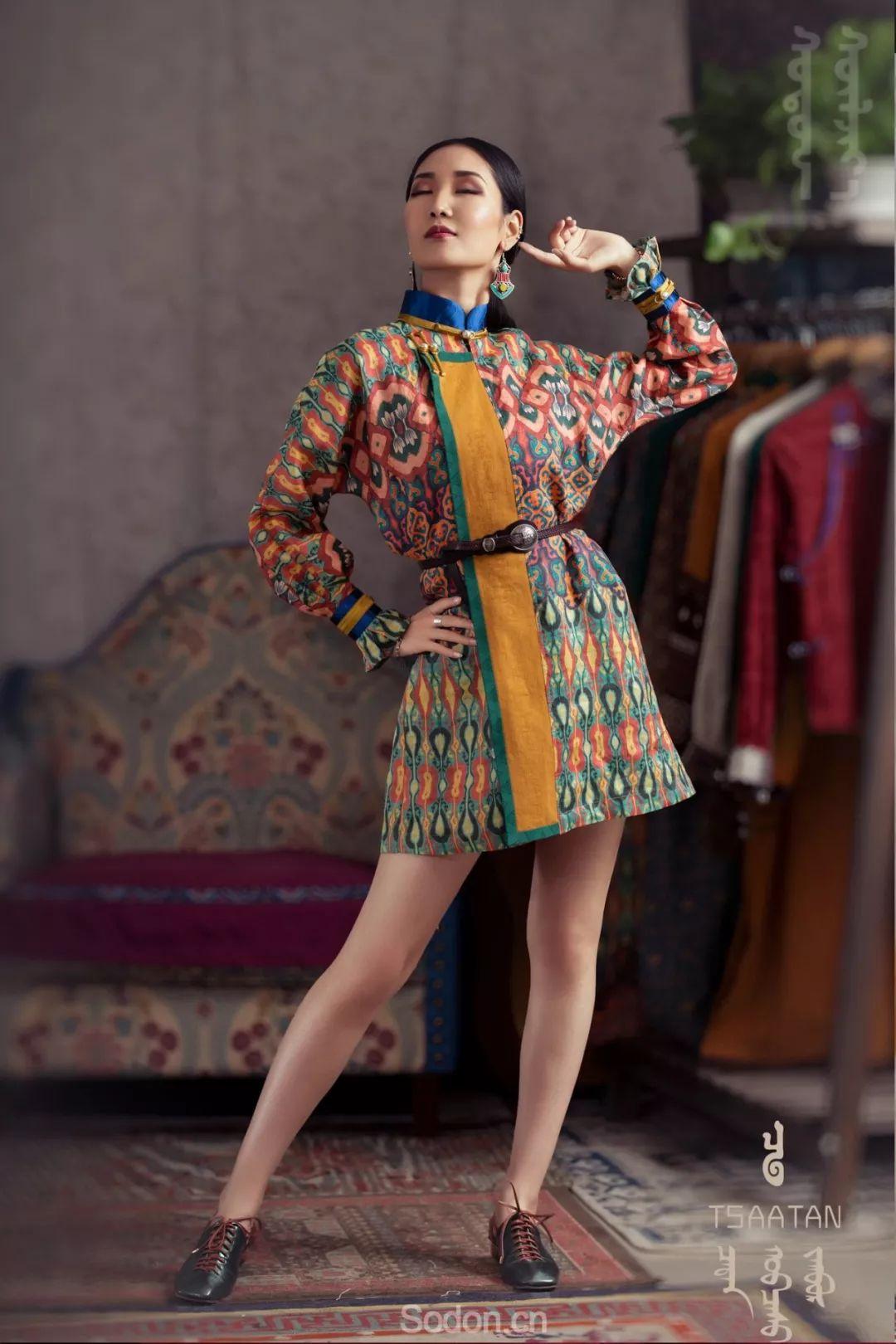 TSAATAN蒙古时装 2019新款,来自驯鹿人的独特魅力! 第74张