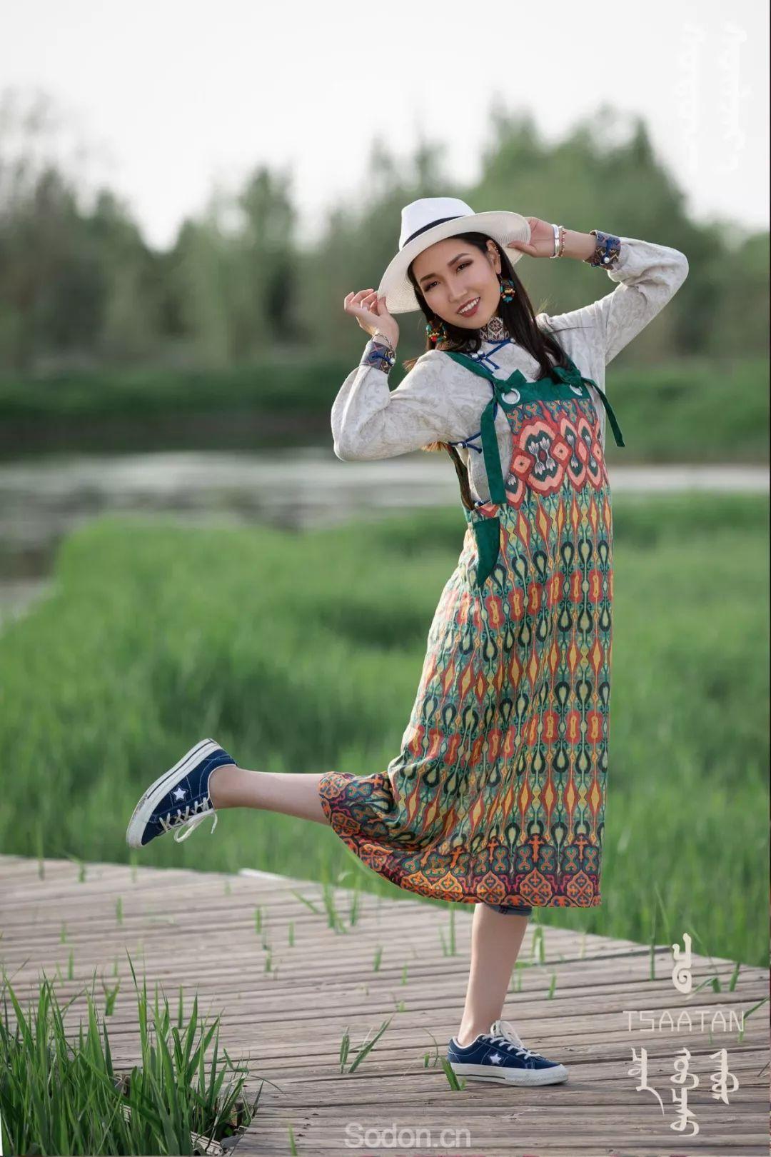 TSAATAN蒙古时装 2019新款,来自驯鹿人的独特魅力! 第77张