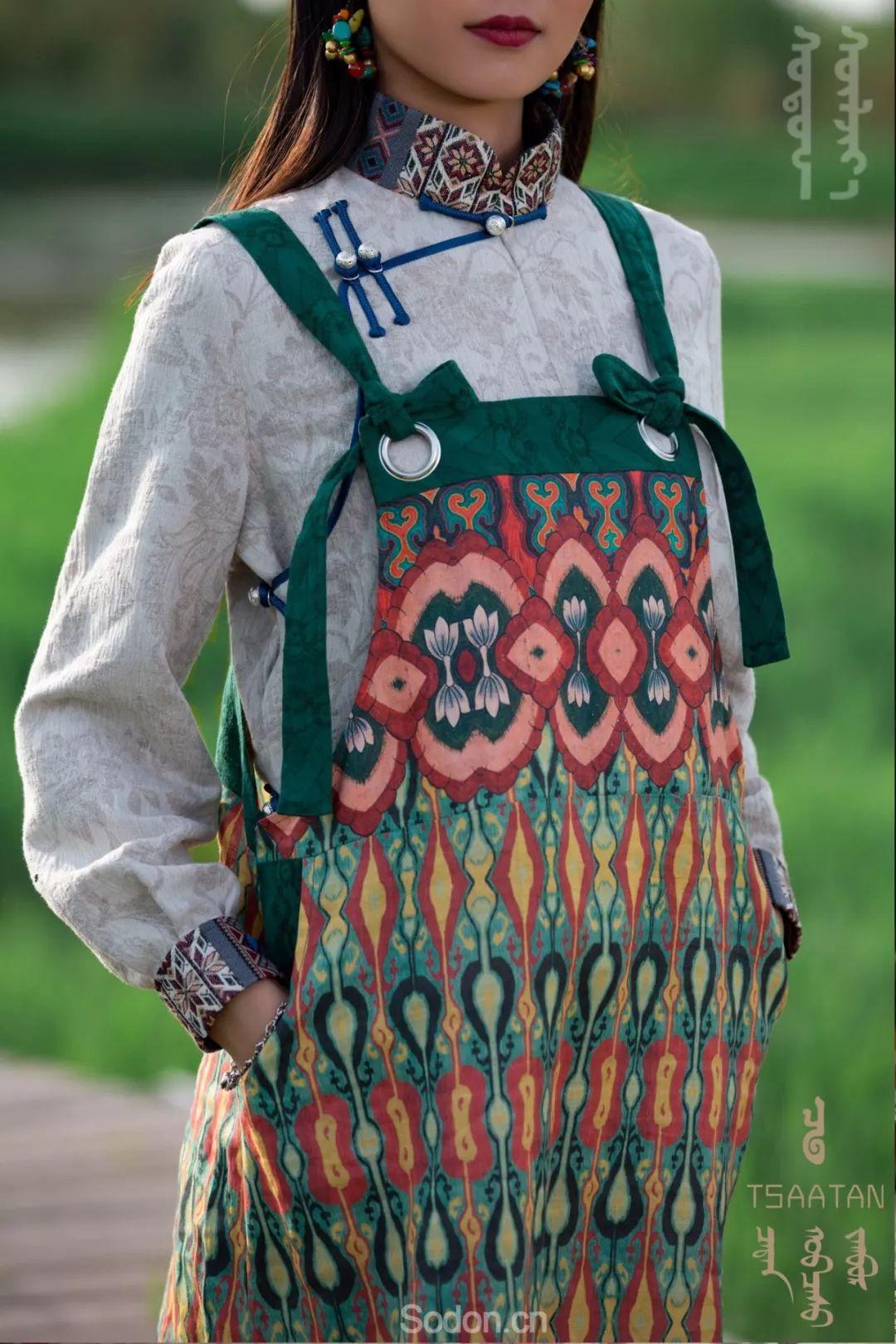TSAATAN蒙古时装 2019新款,来自驯鹿人的独特魅力! 第79张