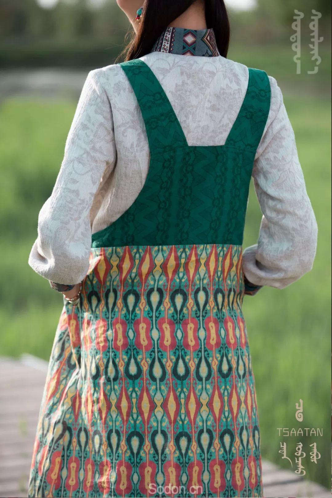 TSAATAN蒙古时装 2019新款,来自驯鹿人的独特魅力! 第80张 TSAATAN蒙古时装 2019新款,来自驯鹿人的独特魅力! 蒙古服饰