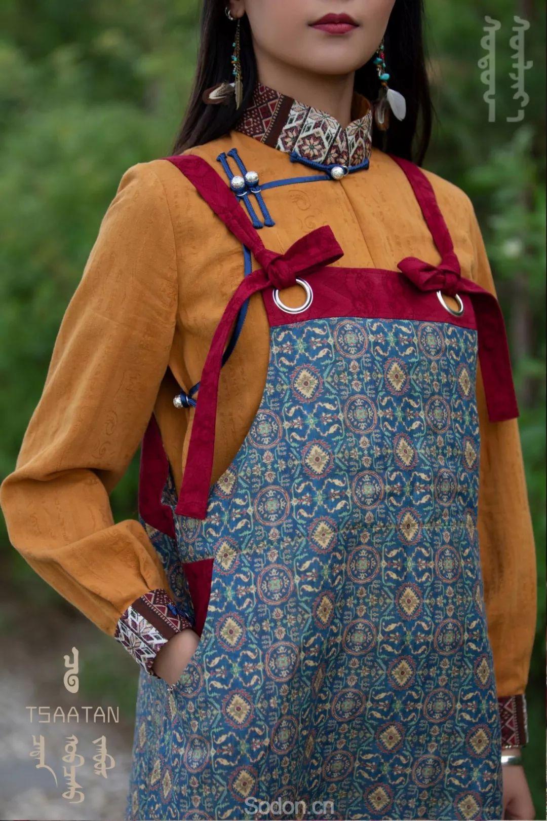 TSAATAN蒙古时装 2019新款,来自驯鹿人的独特魅力! 第83张