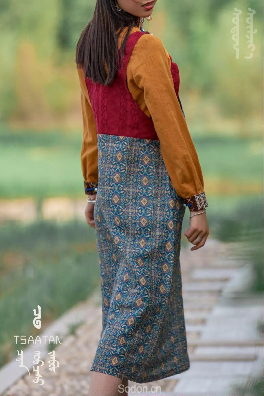 TSAATAN蒙古时装 2019新款,来自驯鹿人的独特魅力! 第82张