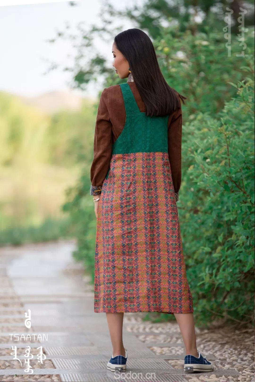 TSAATAN蒙古时装 2019新款,来自驯鹿人的独特魅力! 第85张 TSAATAN蒙古时装 2019新款,来自驯鹿人的独特魅力! 蒙古服饰