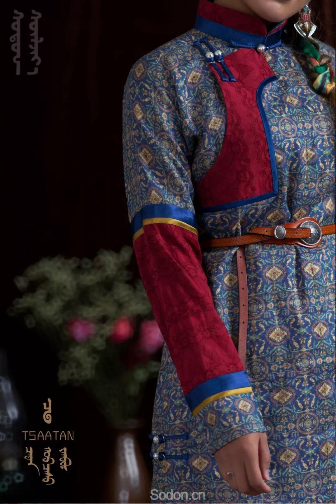 TSAATAN蒙古时装 2019新款,来自驯鹿人的独特魅力! 第92张