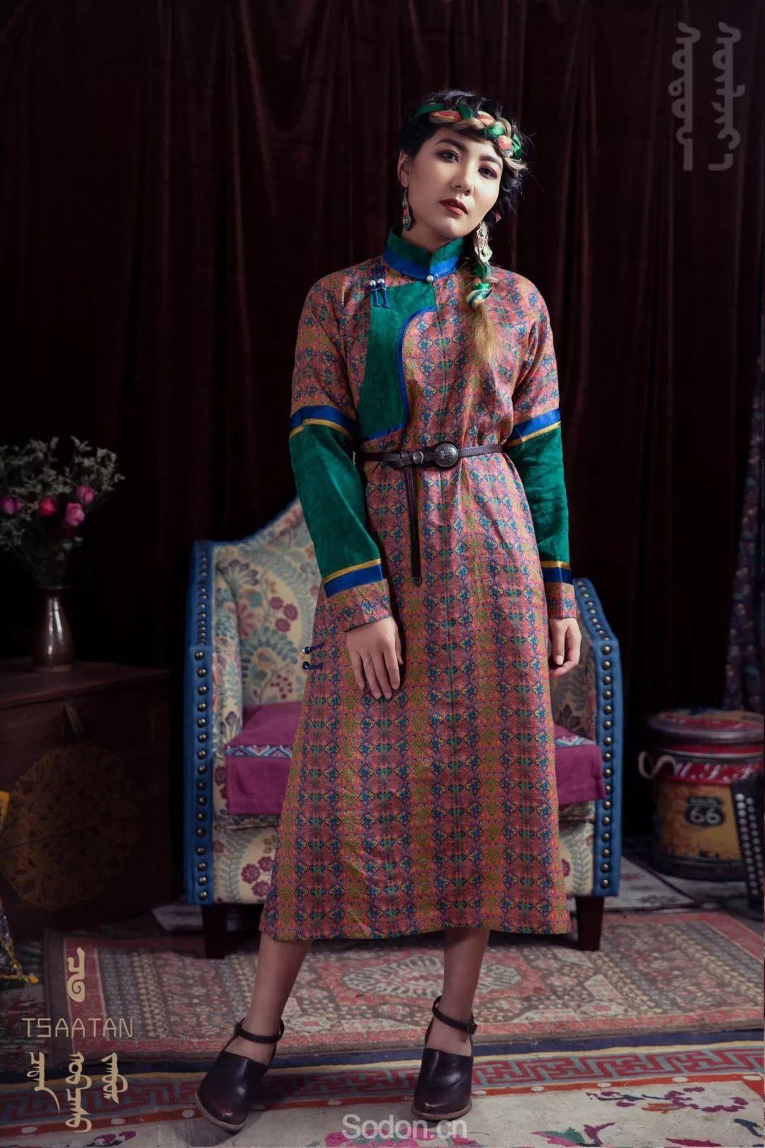 TSAATAN蒙古时装 2019新款,来自驯鹿人的独特魅力! 第93张