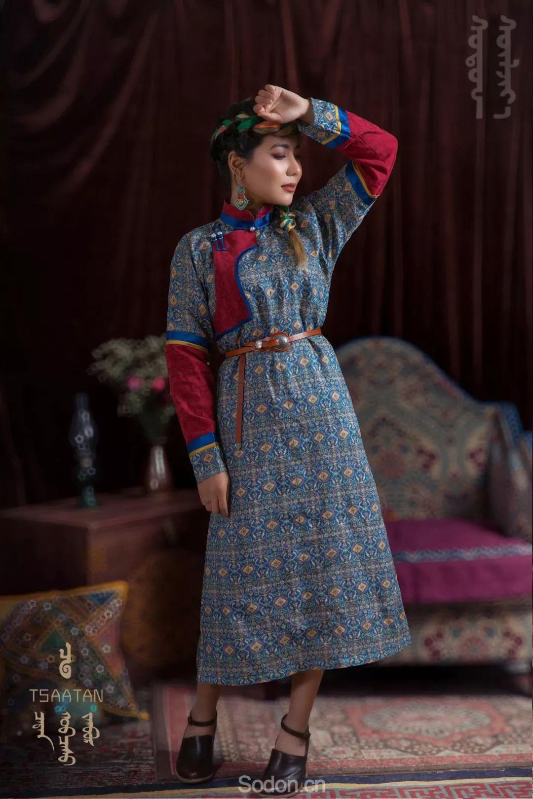 TSAATAN蒙古时装 2019新款,来自驯鹿人的独特魅力! 第91张